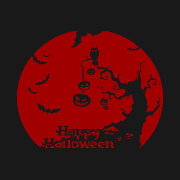 The Dark of Happy Halloween Party