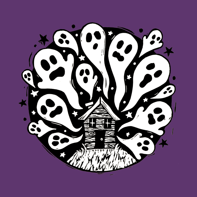 Spooky Ghost House