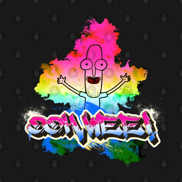 Ooh Wee! Grafitti Mr. Poopy Butthole Rainbow Paint