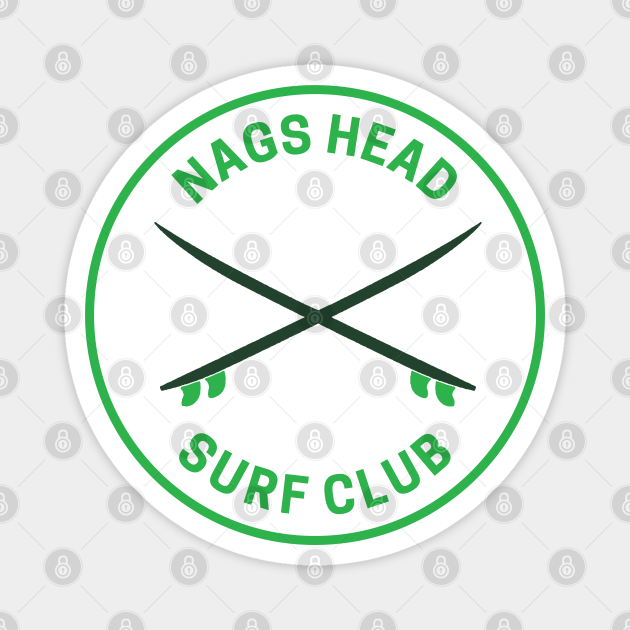 Vintage Nags Head North Carolina Surf Club