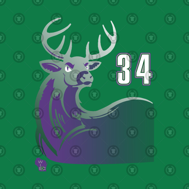 new styles 03817 e6f80 Ray Allen - Milwaukee Bucks 90s Alternate Uniform