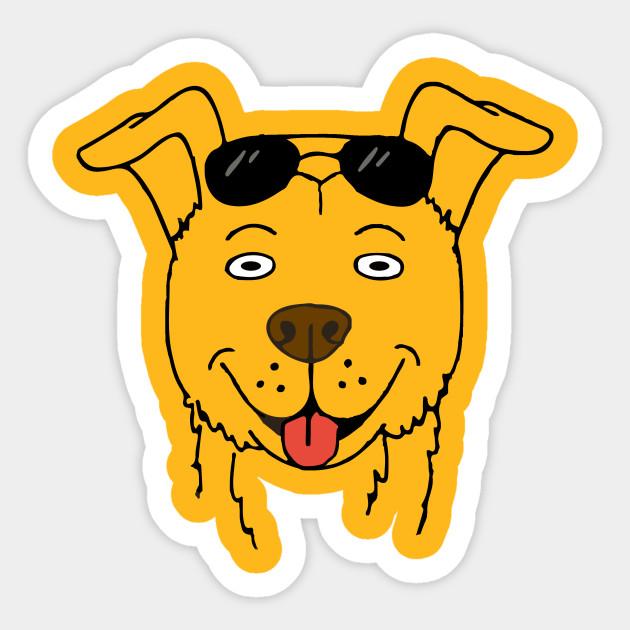 Mr Peanutbutter Bojack Sticker Teepublic
