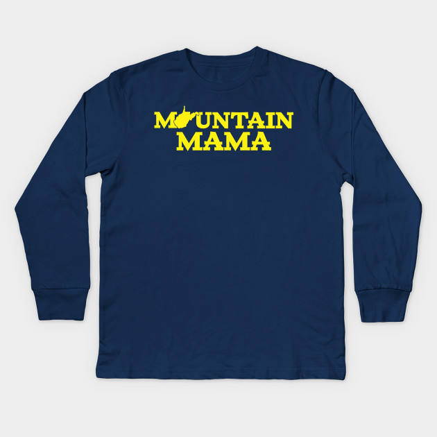 2828dcc46bd87 Mountain Mama WV Blue and Gold