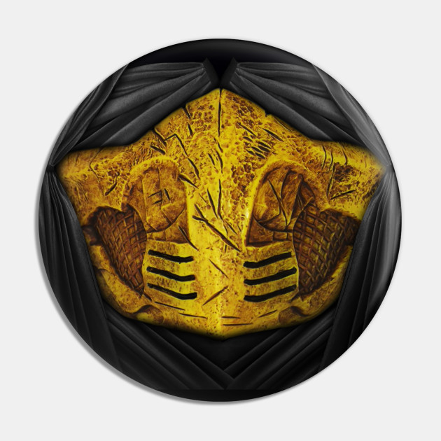 Scorpion Face Mask Mortal Kombat Pin Teepublic