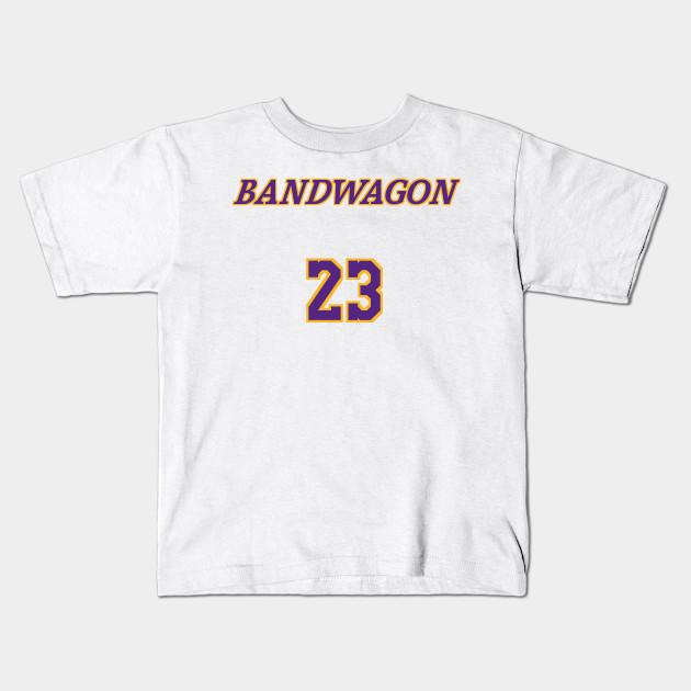 d37359bfd LeBron James Bandwagon Fans - Lebron James - Kids T-Shirt