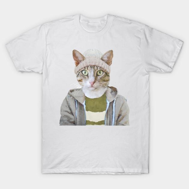 Hip Hop Cat Cat T Shirt Teepublic