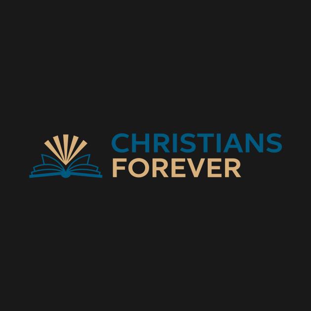 Christians Forever (Blue & Gold Logo)