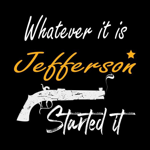 Hamilton Jefferson - Whatever It Is Jefferson Started It - Burr Shot First - Rise up - Hamilton on Broadway