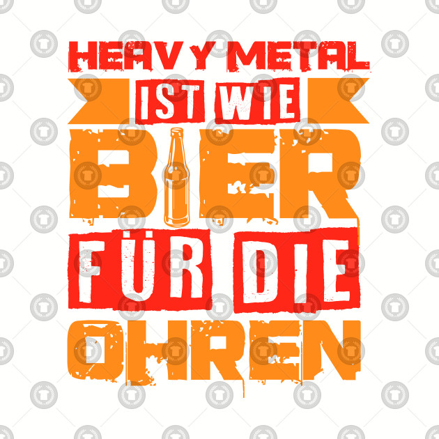 a74fdea7 Heavy Metal Beer Festival Concert Funny Gift Idea - Beer - Kids Long ...