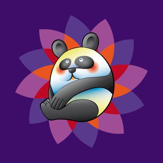 colorful panda bear panda mug teepublic