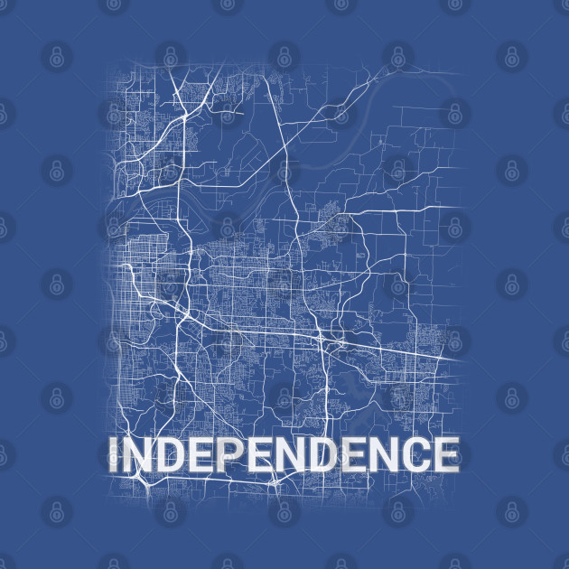 Independence US Missouri City Map