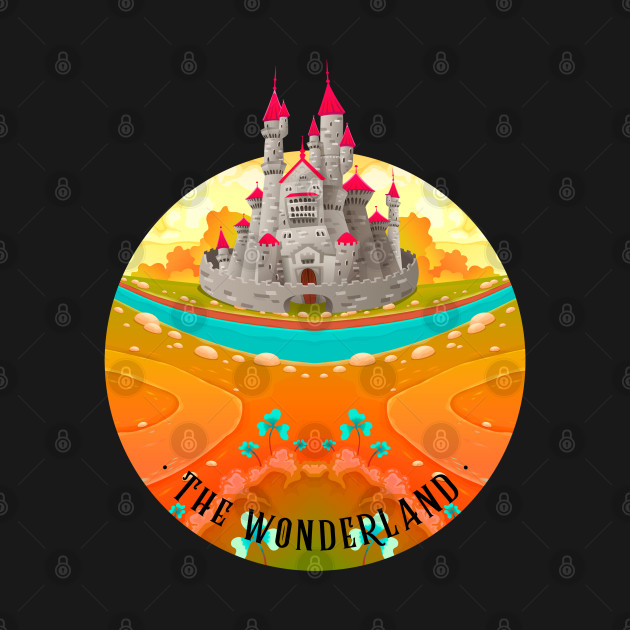 The Wonderland Pink Castle