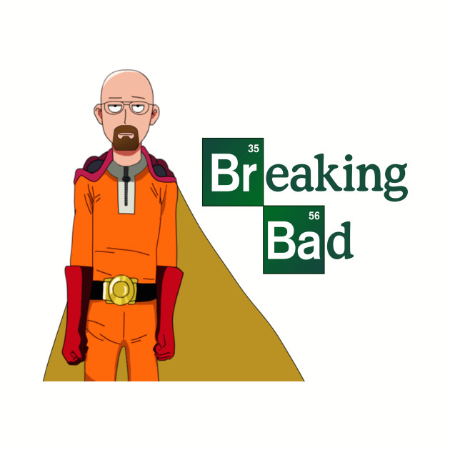 One punch man - breaking bad cross over