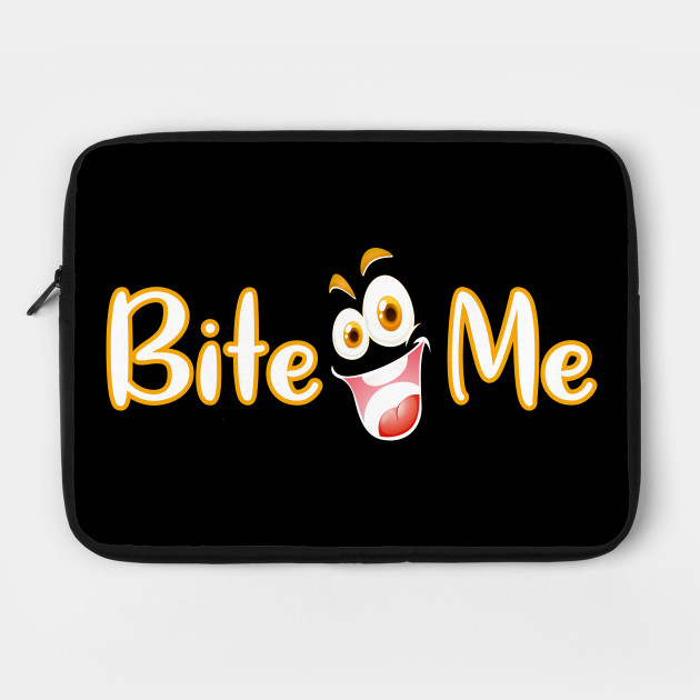 Bite me tee design birthday gift graphic