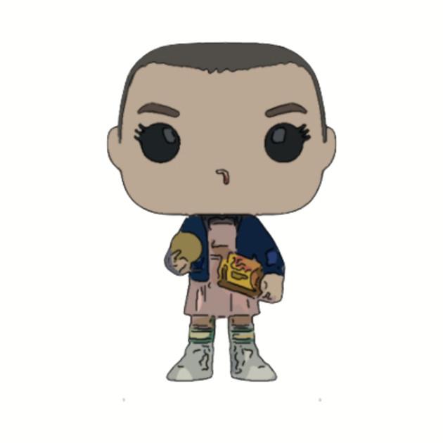 Eleven with Eggos Funko Pop! Figure
