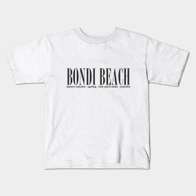 4c5737da8d Bondi Beach Kids T-Shirts | TeePublic