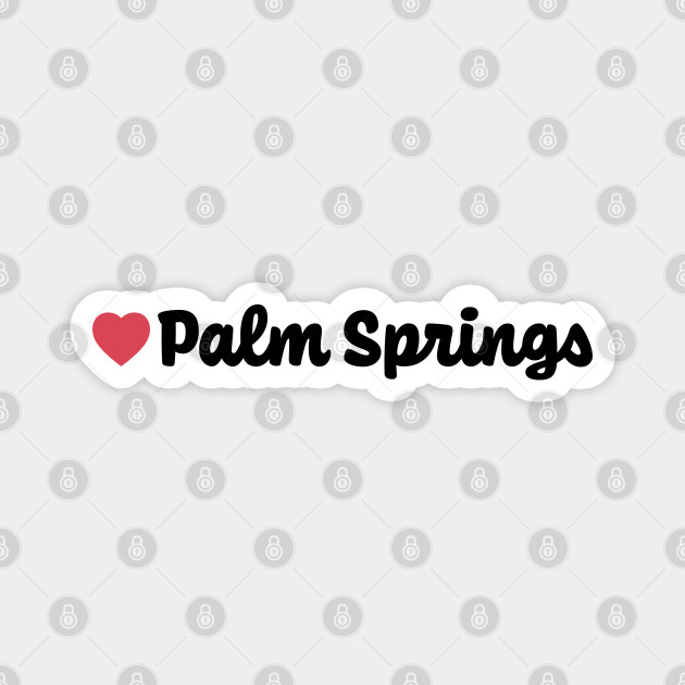 Palm Springs Heart Script