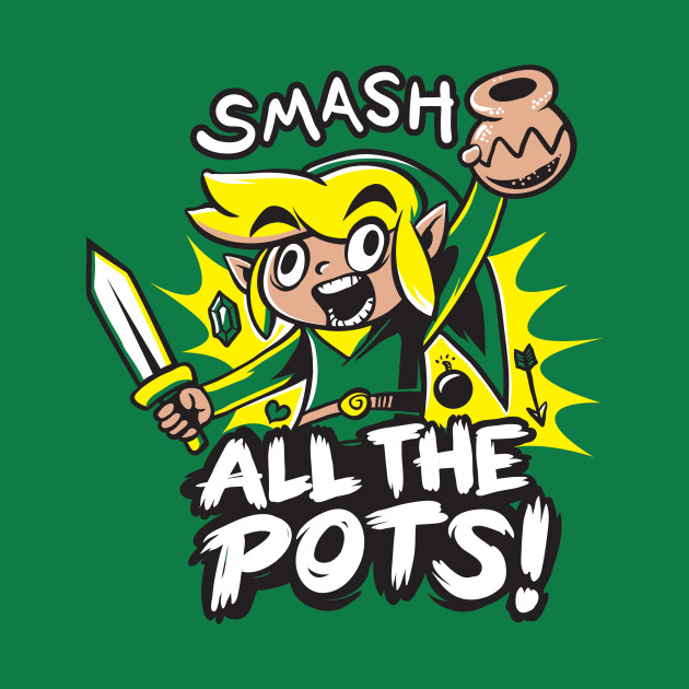 Smash ALL the Pots!
