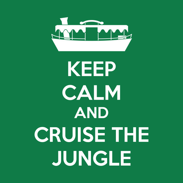 Cruise the Jungle white text