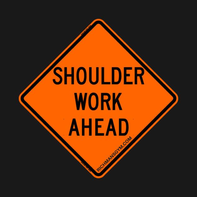 Shoulder Work Ahead