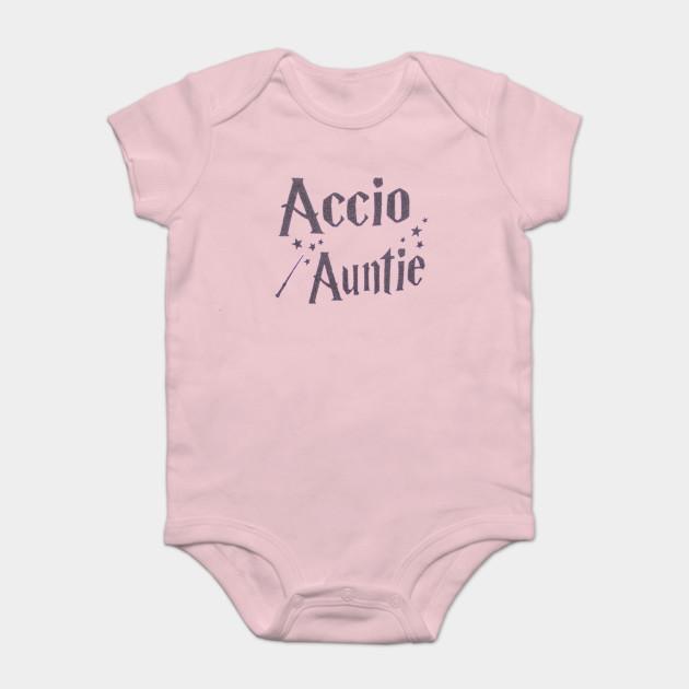 f5dcb5074 Accio Auntie - Harry Potter - Onesie   TeePublic