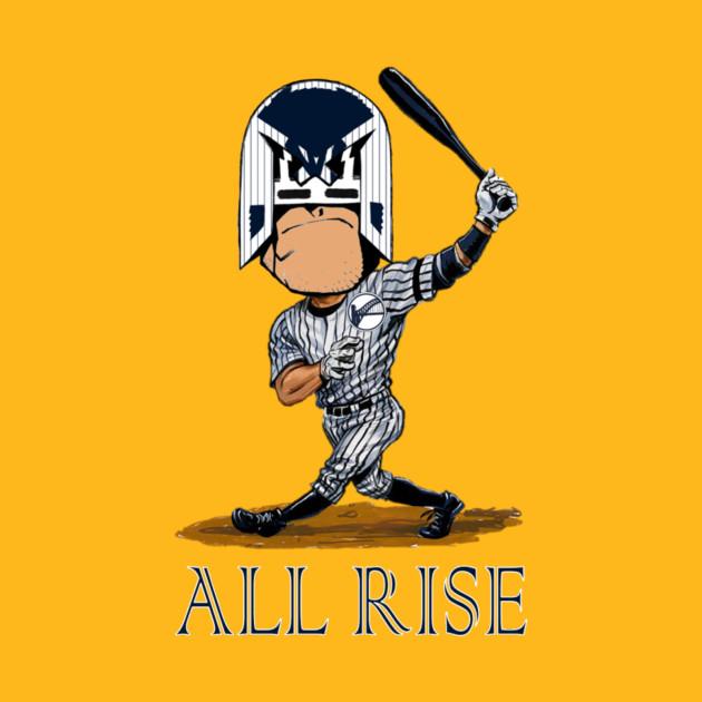 The Judge 99 (All Rise) - Yankees - T-Shirt | TeePublic