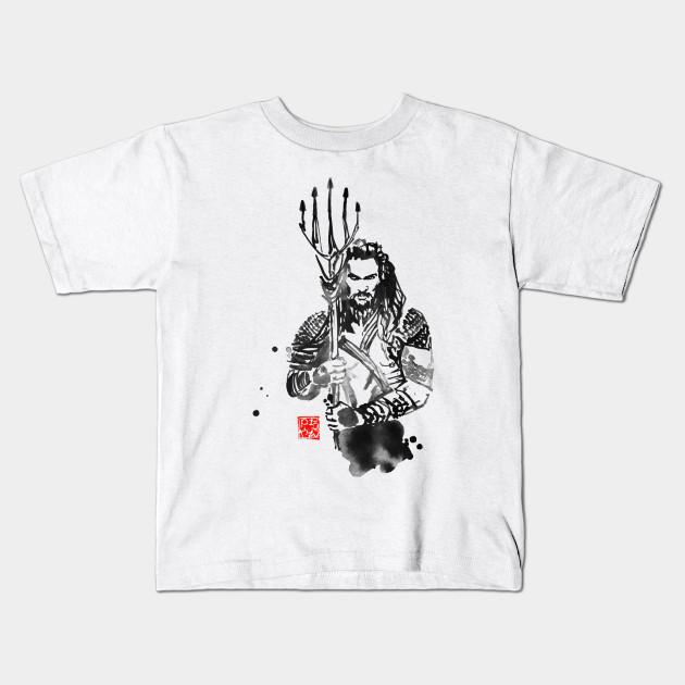13263303f aquaman - Aquaman - Kids T-Shirt   TeePublic