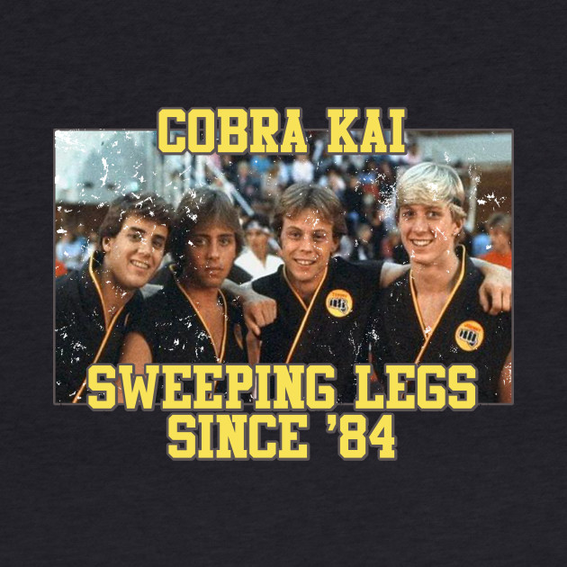 Cobra Kai Vintage Team