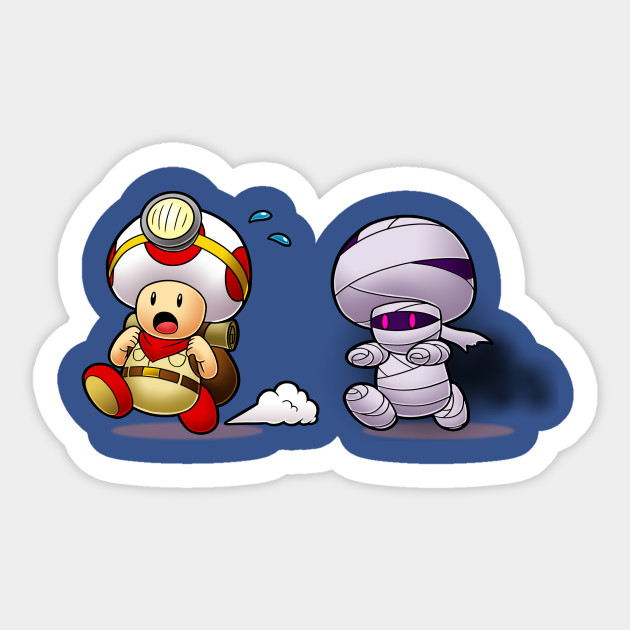 Captain Toad Mummy Chase