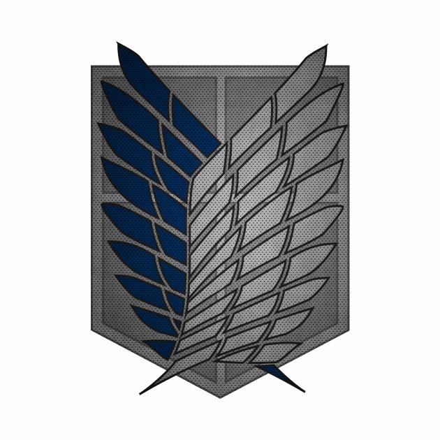 Attack on Titan Logo Recon Corps