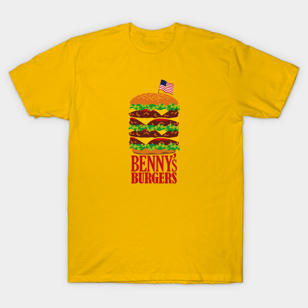 Benny's Burgers from Stranger Things