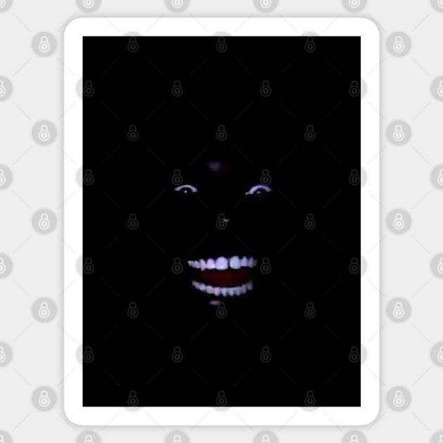 Black Man Laughing in the Dark - Meme - Sticker | TeePublic