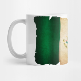 Grunge Flag of Mexico... Mug