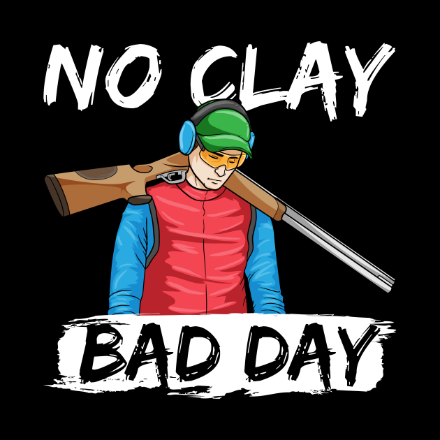 Trap Shooting Skeet Pull Clay Pigeon Shooter