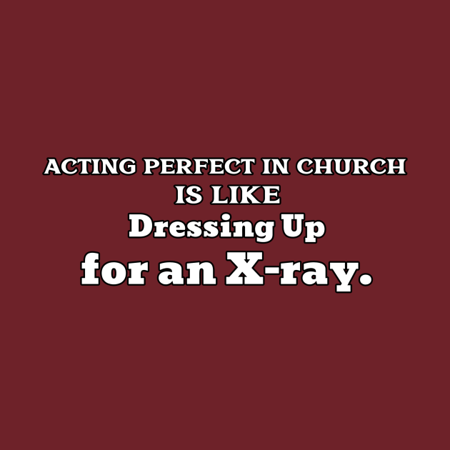 Dressing Up for an X-Ray
