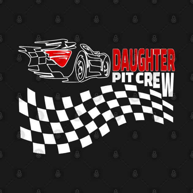 Pit Crew Car Racing funny gift