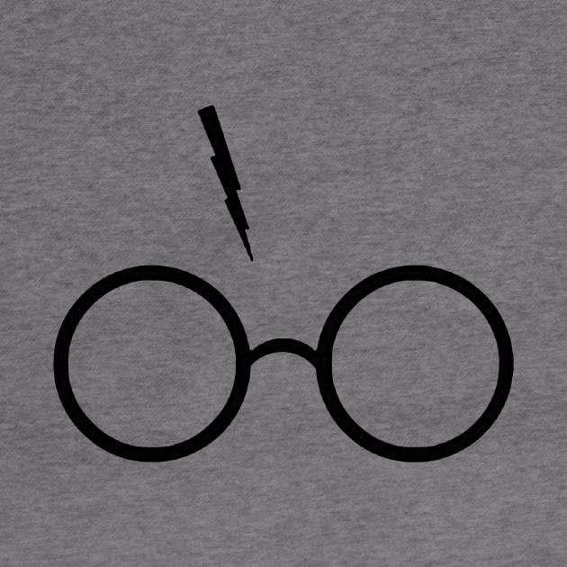 Harry Potter Inspired Lightning Glasses Symbol Harry Potter