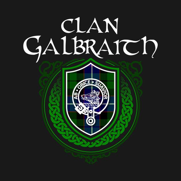 Clan Galbraith Surname Scottish Clan Tartan Crest Badge