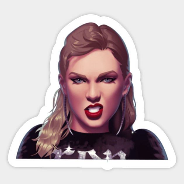 Taylor Swift Stickers Kamos Sticker