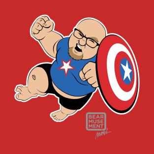 Captain Chops! t-shirts
