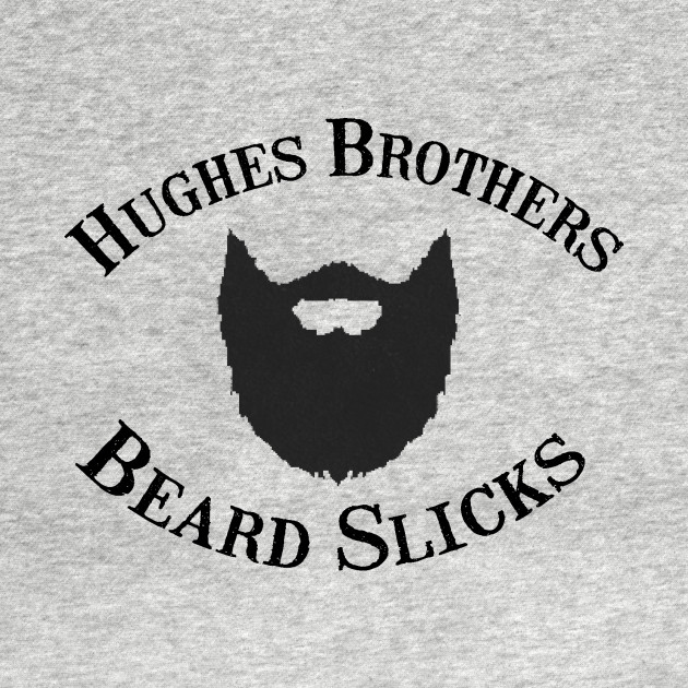 Hughes Brothers Beard Slicks Logo