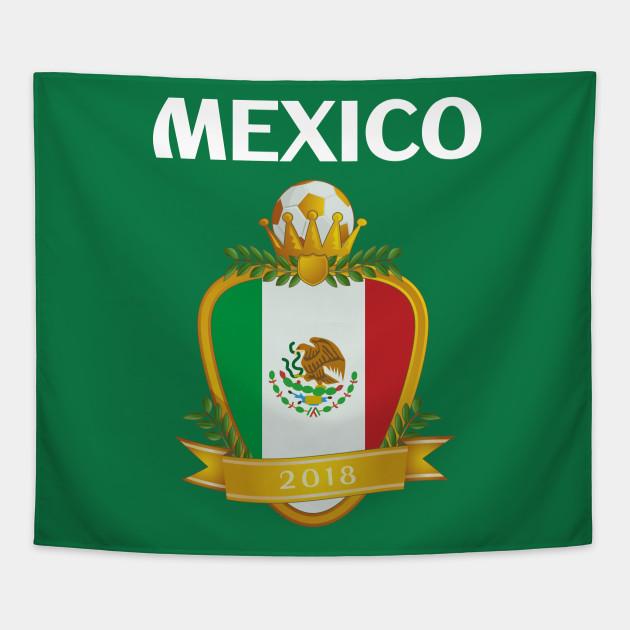 7f4be91ab3a Team Mexico Futbol El Tri - Mexico Soccer - Tapestry   TeePublic