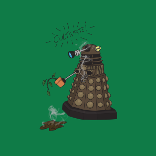 Dalek Retrement - Dr Who's Orders | CULTIVATE t-shirts