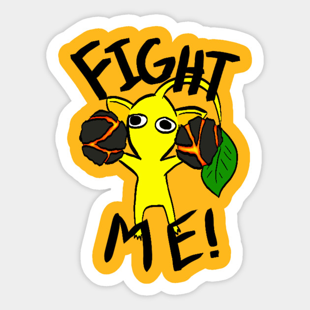 Fight Me Yellow Pikmin
