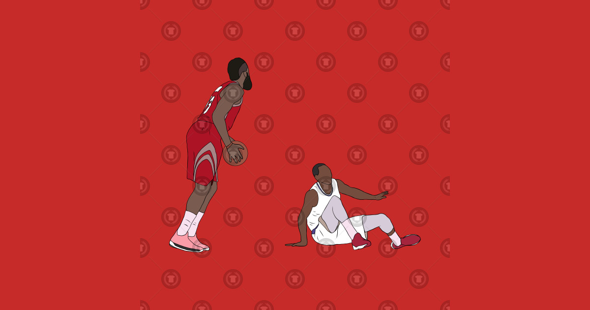 f1622a7aad3 James Harden Crossover On Wesley Johnson - James Harden - Kids T-Shirt