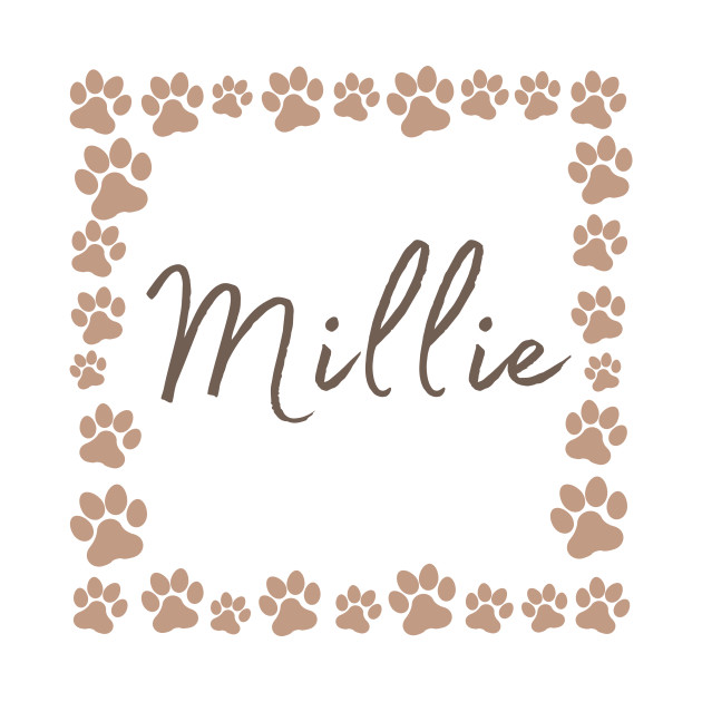 Pet name tag - Millie