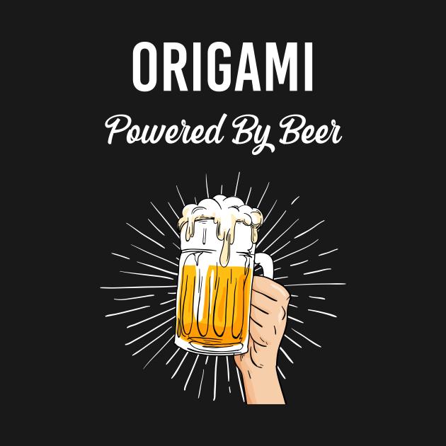 Beer Origami