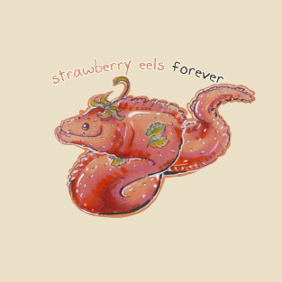 strawberry eels (with text)