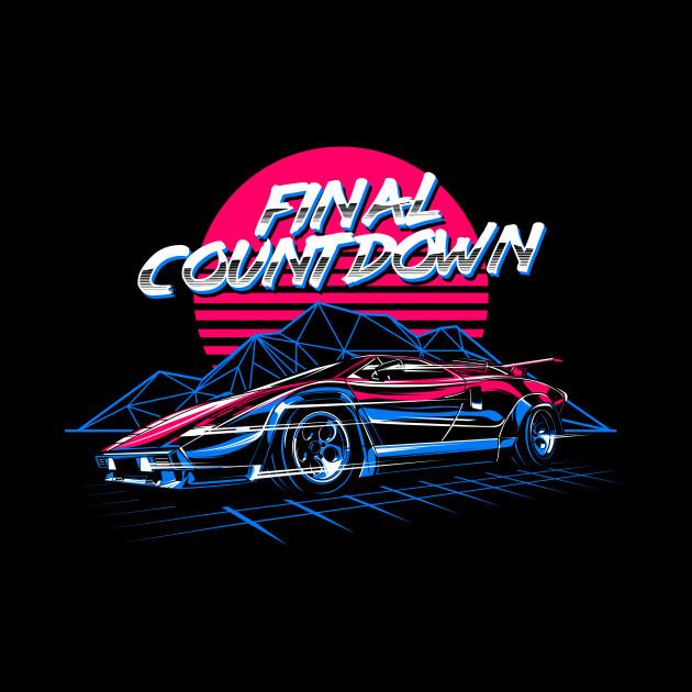 Lamborghini Countach Final Countdown Lamborghini Countach