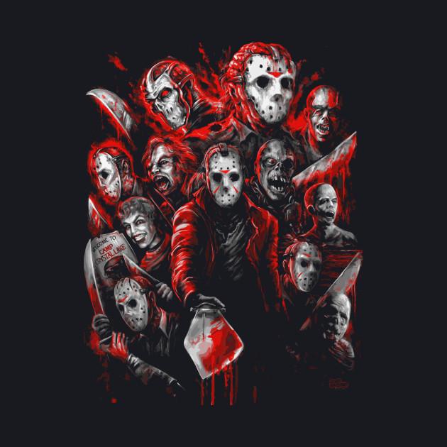 12 Jasons (Many faces of)
